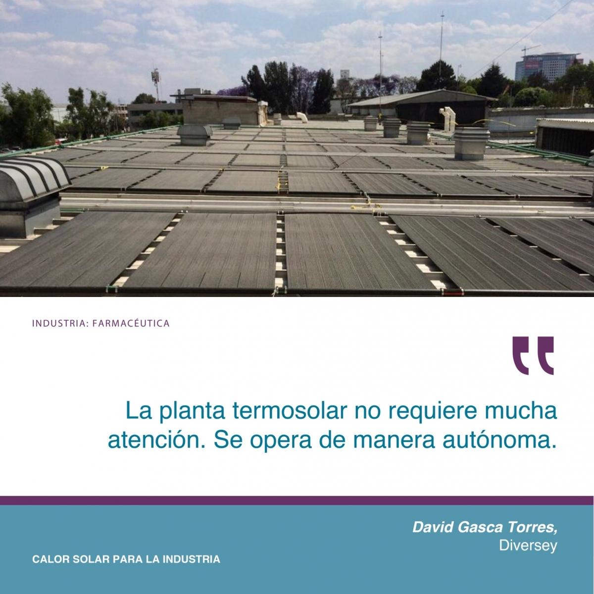 SPB México Testimonio DIVERSEY Módulo Solar