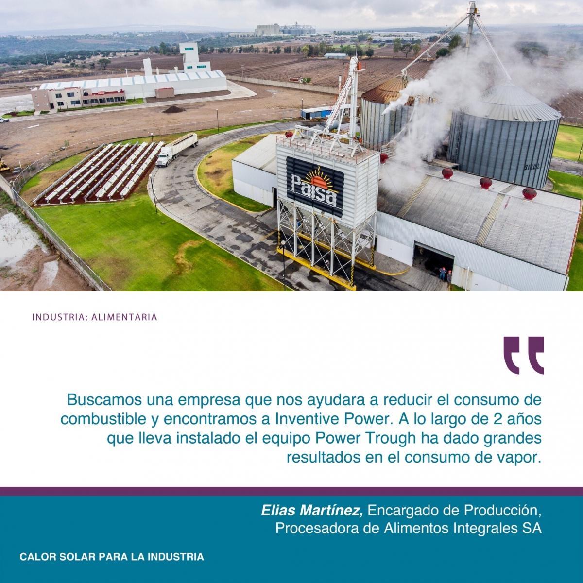 SPB México Testimonio Procesadora de Alimentos Integrales Inventive Power